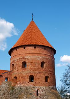 Trakai Island Castle Royalty Free Stock Images