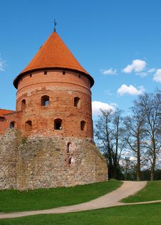 Trakai Island Castle Stock Photography