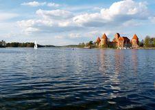 Free Panorama Of Castle Trakai Stock Photo - 19521670