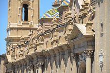Basilica Del Pilar Stock Images