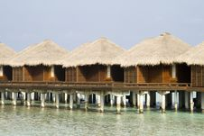 Free Water Bungalows Stock Photography - 19523242