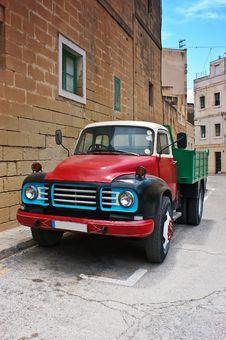 Oldtimer Bedford Truck Stock Photos