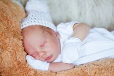 Free Adorable Newborn Baby Stock Images - 19524044