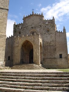 Free Sicily Erice Medieval Church Cathedral Royalty Free Stock Photos - 19524258