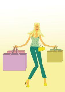 Free Shopping Royalty Free Stock Photos - 19524278