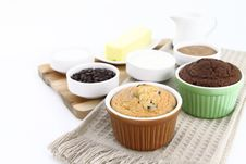 Free Fresh Muffins Stock Photography - 19525172