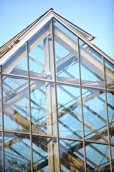 Free Glass Roof Detail Stock Image - 19525541