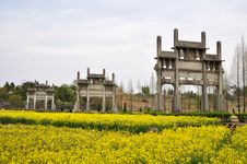 Free Landmark Of Chinese Ancient Buildings Royalty Free Stock Image - 19526046