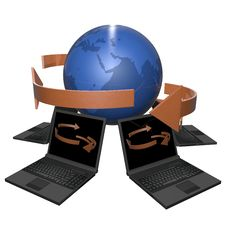 Free Network The Internet Stock Photos - 19526053