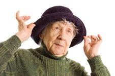 Free Portrait Of Old Woman Stock Image - 19527141