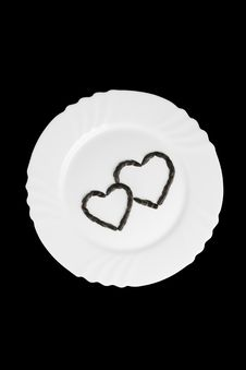 Free Hearts On A Plate Stock Images - 19527424
