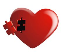 Free Missing Heart Piece Stock Images - 19527704