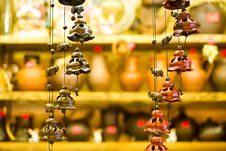 Elephants And Bells Stock Images