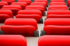 Free Empty Seats At Stadium Stock Photo - 19528660
