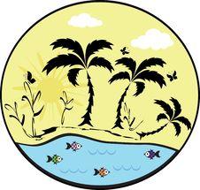 Free Summer Icon Royalty Free Stock Image - 19528696