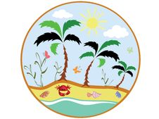 Free Summer Icon Stock Photo - 19528720