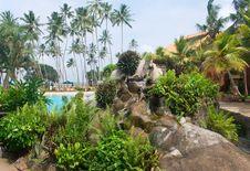Free Sri Lanka Resort. Stock Photography - 19529642
