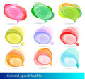 Free Collection Of Colorful Speech And Thought Bubbles. Stock Images - 19532024