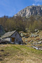 Free Traditional Old Montain Chalet Stock Photography - 19532802