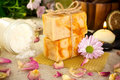 Free Handmade Soap. Stock Image - 19535221