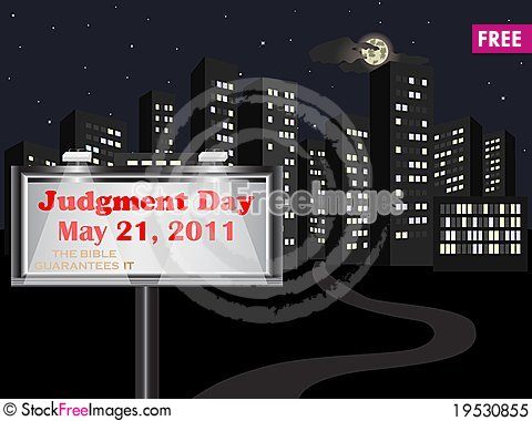 Judgment Day. Stock Photo