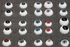 Free Samples Of Artificial Eyes Royalty Free Stock Photos - 19530628