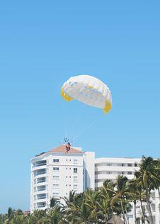 Free Beach Parachute Stock Image - 19530811