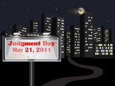 Free Judgment Day. Royalty Free Stock Photo - 19530855