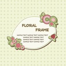 Free Floral Frame Stock Images - 19531834