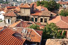 Free Roofs Of Ankara, Turkey Stock Photography - 19532512
