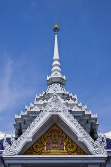 Free Top Part Of Thai Style Architecture Stock Photo - 19533660