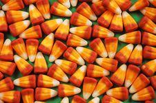 Halloween Candy Corn Royalty Free Stock Photo