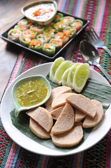 Free Sausage Thaifood Stock Image - 19534211