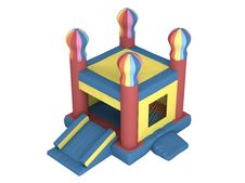 Free Inflatable Castle Royalty Free Stock Image - 19534266