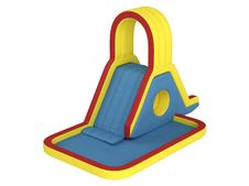 Free Inflatable Children`s Slide Royalty Free Stock Photos - 19534288