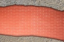 Free Brick And Concrete  Wall Stock Photos - 19534723