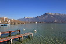 Free Lake Annecy Stock Photos - 19535013