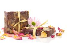 Natural Handmade Soap. Stock Photo