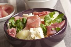 Free Salad In A Bowl Royalty Free Stock Photography - 19535347