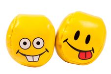 Free Balls With Grimaces Royalty Free Stock Images - 19535939