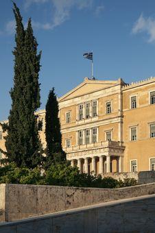 Free Greek Parliament Royalty Free Stock Photos - 19537638