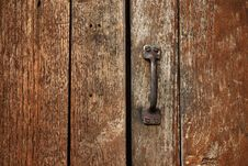 Old Handle Royalty Free Stock Images