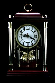 Free Old Antique Clock Royalty Free Stock Photo - 19537715