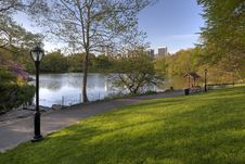 Free Central Park In Spring Stock Photography - 19537752