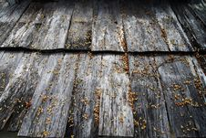 Old Roof Wood Texture Royalty Free Stock Images