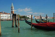 Free Venice, San Marco And Gondola Stock Photo - 19538470