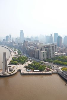 Free Shanghai Bund Royalty Free Stock Photography - 19538537