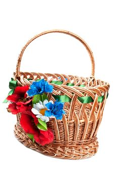 Free Wicker Basket Stock Photo - 19538860