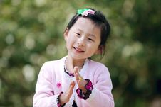 Free Chinese Lovely Girl Royalty Free Stock Photos - 19538908