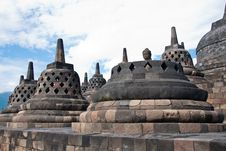 Free Borobudur Temple Royalty Free Stock Image - 19539056